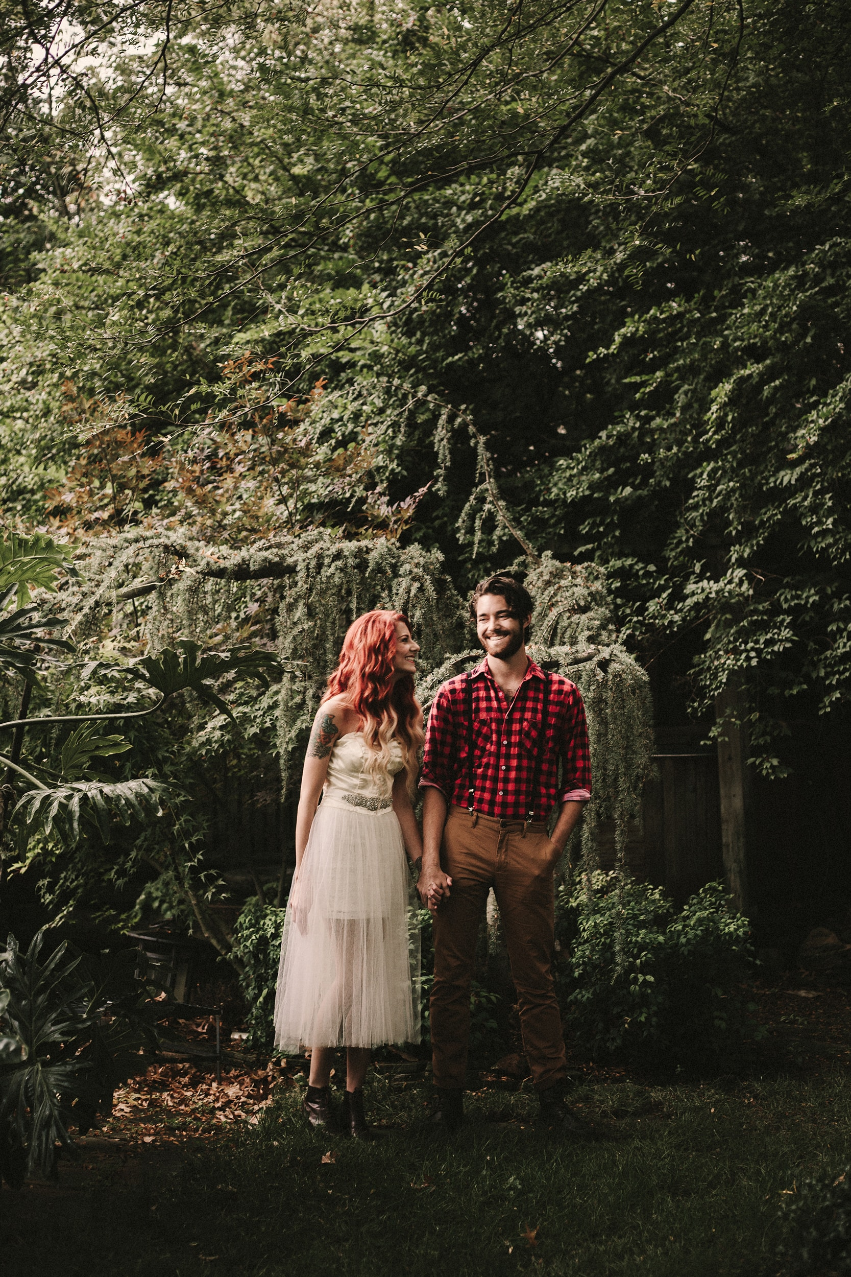styled wedding portraits