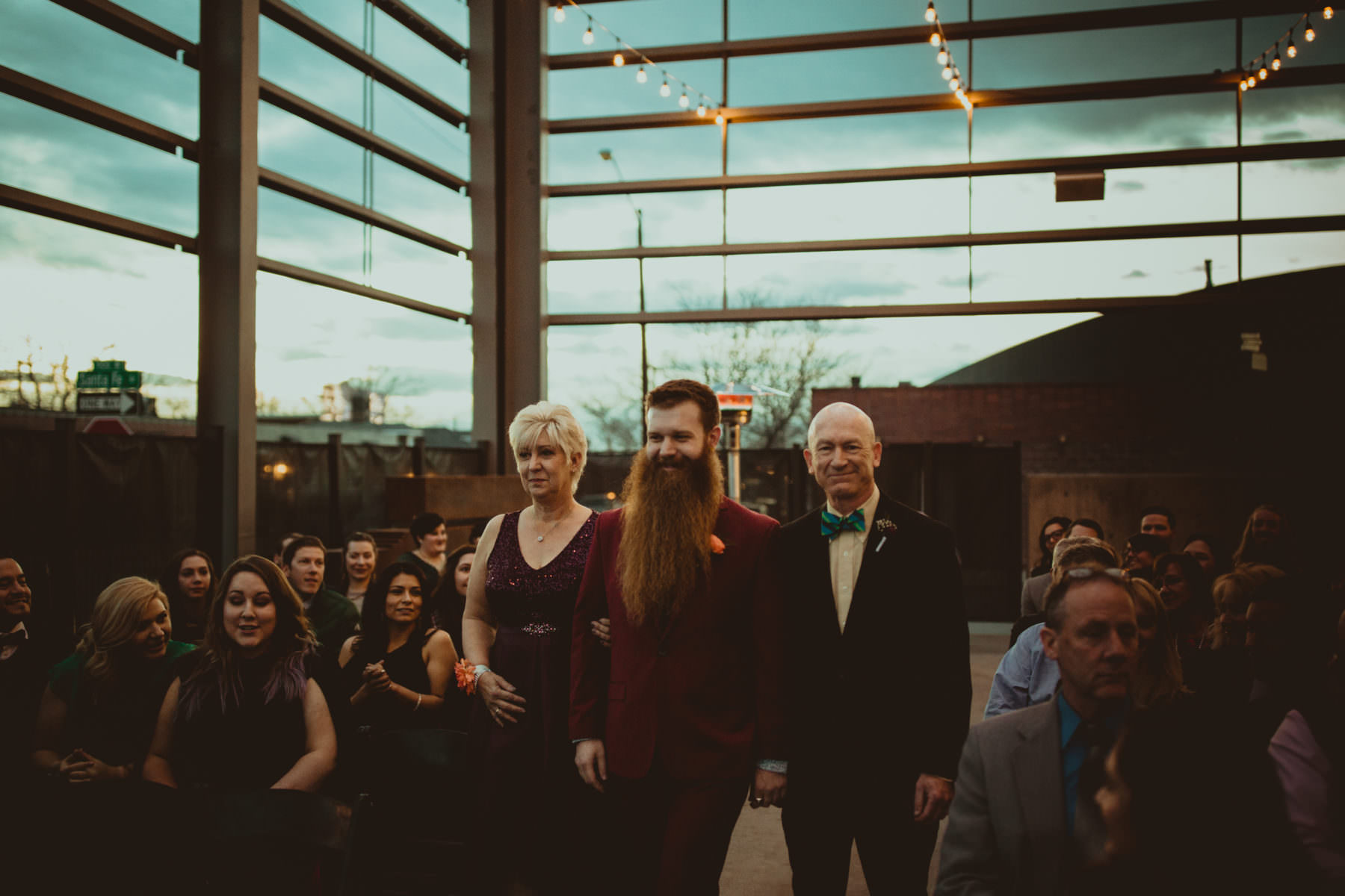 Urban Denver Wedding