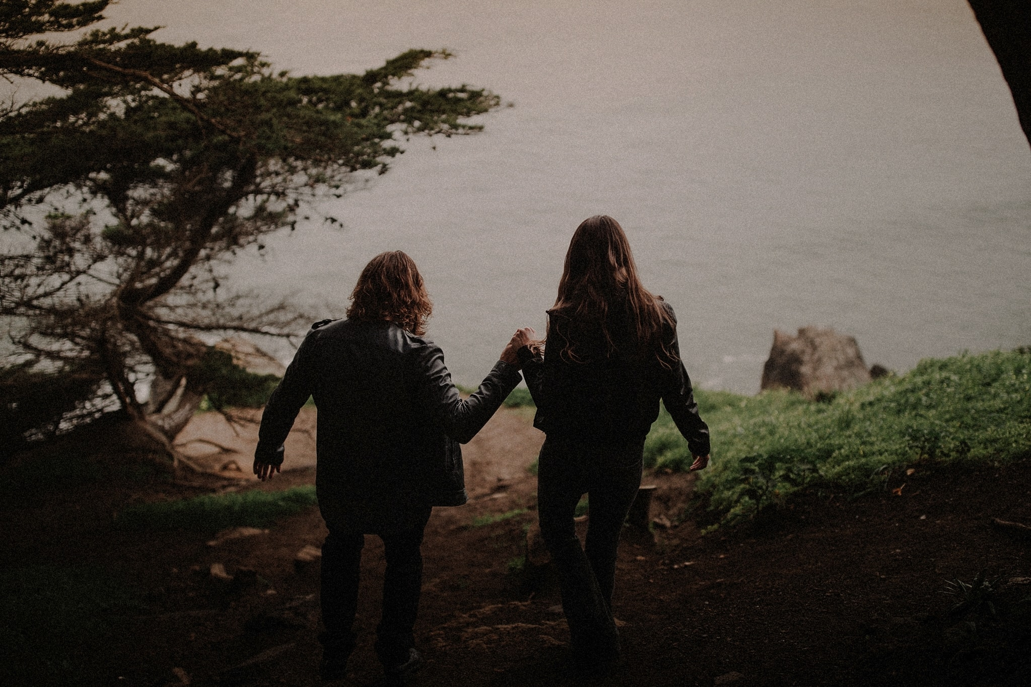 SF Sutro Baths Couples Session